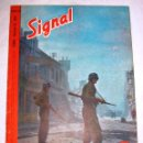 Militaria: SIGNAL Nº 16 1944 ED. DA. EN DANES - REVISTA ALEMANA - RARO / WAFFEN SS - PROPAGANDA NAZI III REICH. Lote 52389127