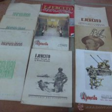 Militaria: LOTE 10 REVISTA MILITAR ANTIGUA, EJERCITO ESPAÑOL, OFICIALIDAD DE COMPLEMENTO... VARIEDAD.. Lote 52534565