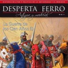 Militaria: DESPERTA FERRO ANTIGUA Y MEDIEVAL N 32 LA GUERRA DE LOS CIEN AÑOS (I). Lote 136818952