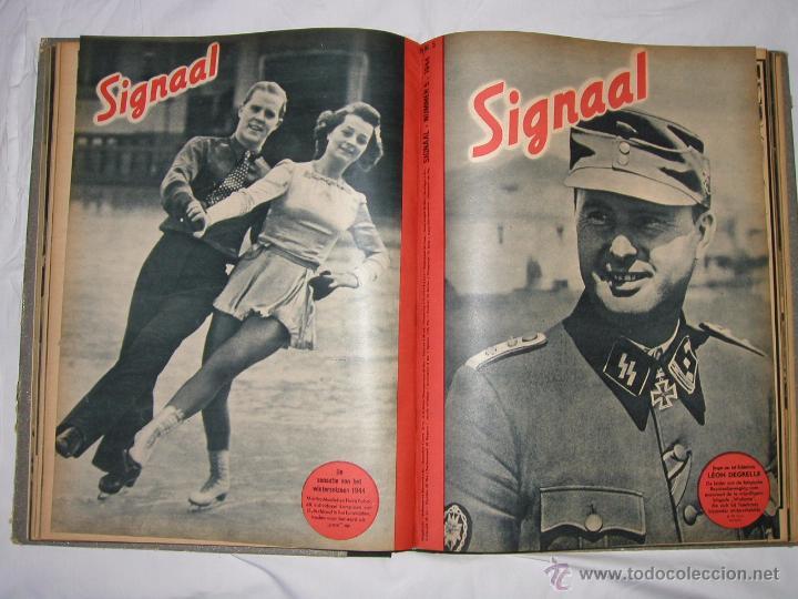 REVISTA SIGNAL SIGNAAL- !!! AÑO 1944 ¡¡¡ NUMEROS MUY DIFICILES DE ENCONTRAR ALEMANIA III REICH RAROS (Militar - Revistas y Periódicos Militares)