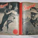 Militaria: REVISTA SIGNAL SIGNAAL- !!! AÑO 1944 ¡¡¡ NUMEROS MUY DIFICILES DE ENCONTRAR ALEMANIA III REICH RAROS. Lote 52868885