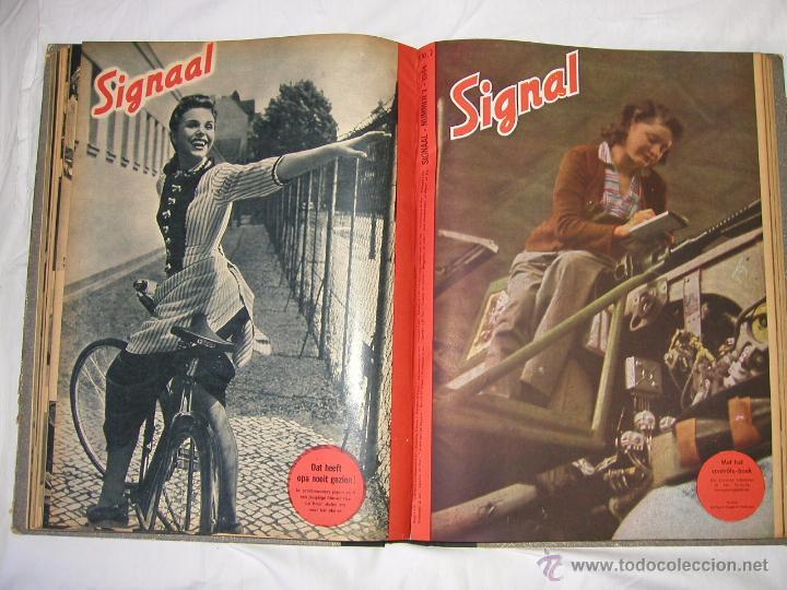 Militaria: Revista SIGNAL SIGNAAL- !!! año 1944 ¡¡¡ Numeros muy dificiles de encontrar Alemania III Reich RAROS - Foto 11 - 52868885