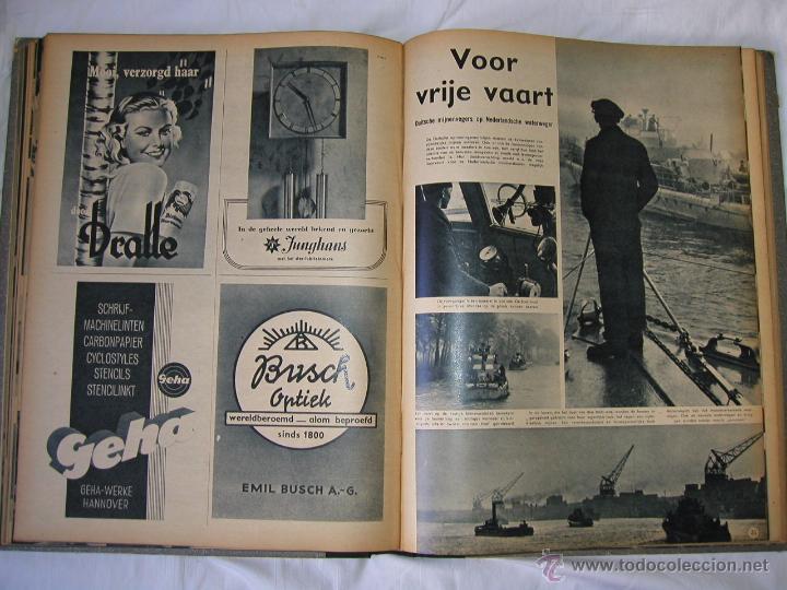 Militaria: Revista SIGNAL SIGNAAL- !!! año 1944 ¡¡¡ Numeros muy dificiles de encontrar Alemania III Reich RAROS - Foto 12 - 52868885