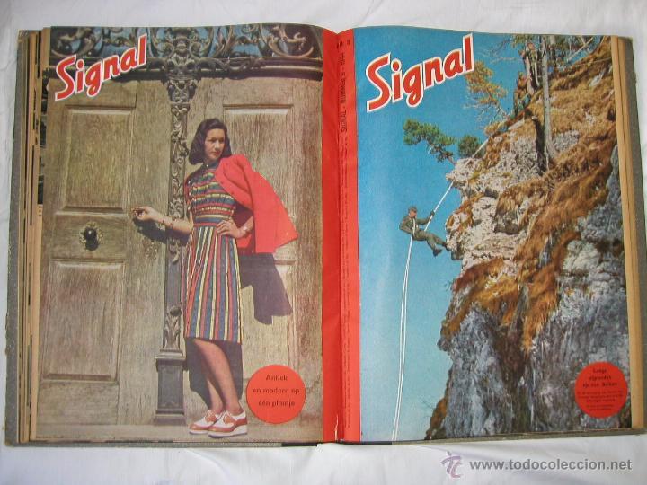 Militaria: Revista SIGNAL SIGNAAL- !!! año 1944 ¡¡¡ Numeros muy dificiles de encontrar Alemania III Reich RAROS - Foto 13 - 52868885