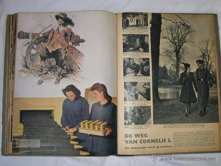 Militaria: Revista SIGNAL SIGNAAL- !!! año 1944 ¡¡¡ Numeros muy dificiles de encontrar Alemania III Reich RAROS - Foto 17 - 52868885
