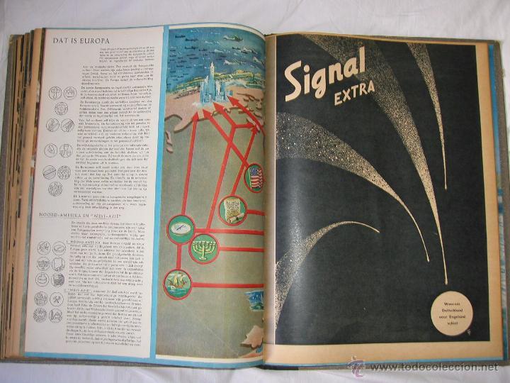 Militaria: Revista SIGNAL SIGNAAL- !!! año 1944 ¡¡¡ Numeros muy dificiles de encontrar Alemania III Reich RAROS - Foto 20 - 52868885
