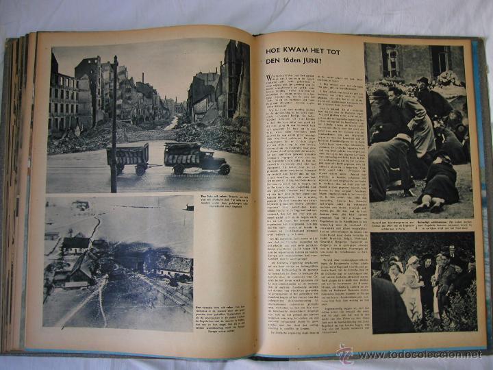 Militaria: Revista SIGNAL SIGNAAL- !!! año 1944 ¡¡¡ Numeros muy dificiles de encontrar Alemania III Reich RAROS - Foto 21 - 52868885