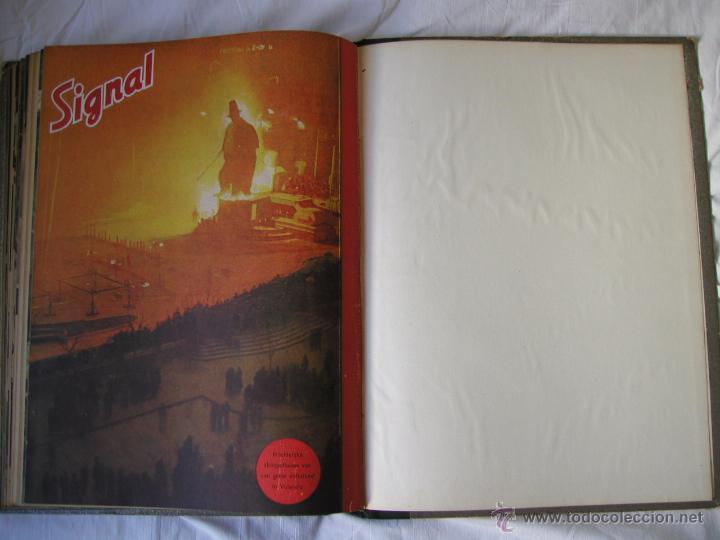Militaria: Revista SIGNAL SIGNAAL- !!! año 1944 ¡¡¡ Numeros muy dificiles de encontrar Alemania III Reich RAROS - Foto 23 - 52868885