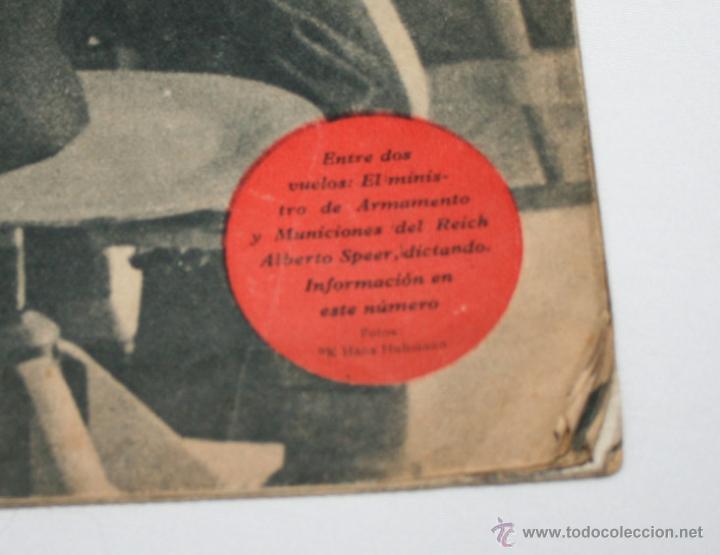 Militaria: REVISTA ANTIGUA SIGNAL Nº 15 AGOSTO 1943, SEGUNDA GUERRA MUNDIAL - Foto 2 - 52934499