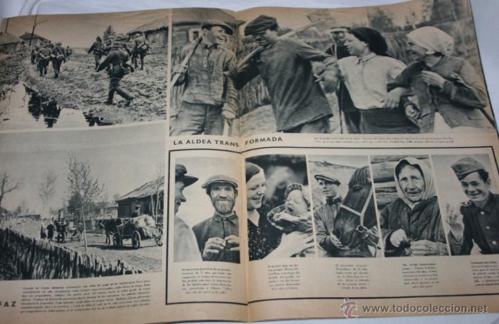 Militaria: REVISTA ANTIGUA SIGNAL Nº 15 AGOSTO 1943, SEGUNDA GUERRA MUNDIAL - Foto 5 - 52934499