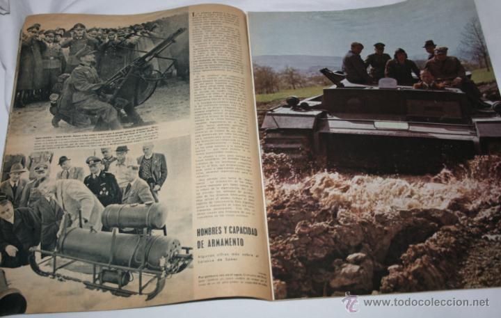 Militaria: REVISTA ANTIGUA SIGNAL Nº 15 AGOSTO 1943, SEGUNDA GUERRA MUNDIAL - Foto 6 - 52934499
