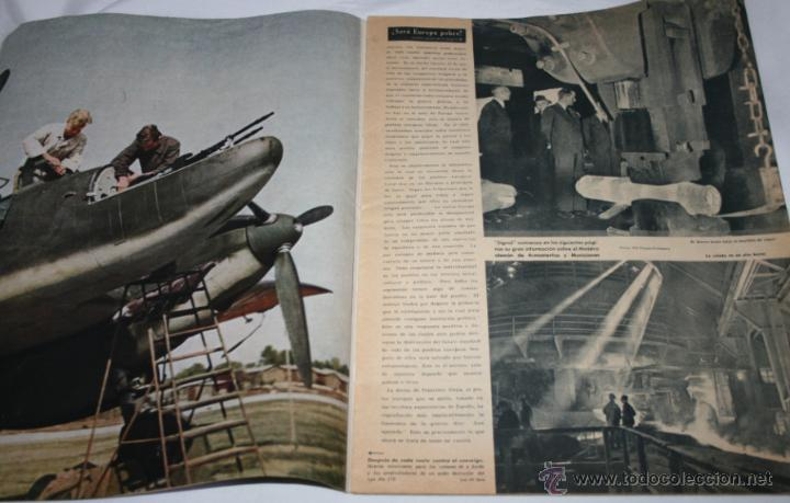 Militaria: REVISTA ANTIGUA SIGNAL Nº 15 AGOSTO 1943, SEGUNDA GUERRA MUNDIAL - Foto 10 - 52934499