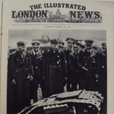 Militaria: THE ILLUSTRATED LONDON NEWS. (EN INGLES), II GUERRA MUNDIAL 11 MARZO 1944 Nº 5473. Lote 52934650