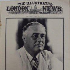 Militaria: THE ILLUSTRATED LONDON NEWS. (EN INGLES), II GUERRA MUNDIAL 21 ABRIL 1945 Nº 5531. Lote 52934833