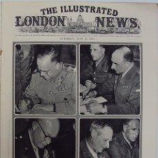 Militaria: THE ILLUSTRATED LONDON NEWS. (EN INGLES), II GUERRA MUNDIAL 16 JUNIO 1945 Nº 5539. Lote 52934992