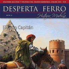 Militaria: DESPERTA FERRO MODERNA Nº19 - EL GRAN CAPITÁN. Lote 53666571