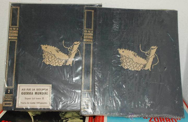 Militaria: LOTE 61 FASCICULOS - ASI FUE LA II GUERRA MUNDIAL - ED.NOGUER AÑO 1972 - Foto 3 - 135531494