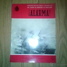 Militaria: REVISTA ALARMA BOMBEROS - NUMERO 7 AÑO 1961. Lote 53541839