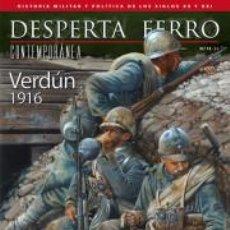 Militaria: DESPERTA FERRO CONTEMPORÁNEA N.13 VERDÚN 1916. Lote 136818797