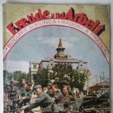 Militaria: REVISTA ALEMANA - FREUDE UND ARBEIT - Nº 8 DE 1941 . GERMAN PROPAGANDA MAGAZINE ALEGRÍA Y TRABAJO. Lote 53753181