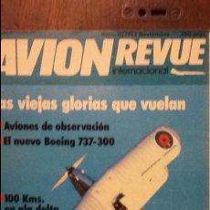 Militaria: REVISTA AVION REVUE Nº 11. TUPOLEV TU-160 BLACKJACK. Lote 53911433