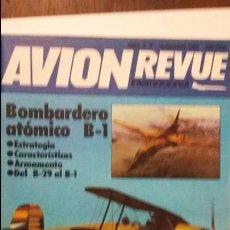 Militaria: AVION REVUE. BOMBARDERO ROCKWELL B-1. Lote 53911472