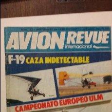 Militaria: AVION REVUE. F-19 AURORA. Lote 53911510