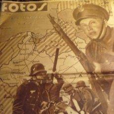 Militaria: FOTOS, SEMANARIO GRÀFICO NACIONALSINDICALISTA 1939. Lote 54086203