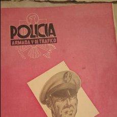 Militaria: REVISTA POLICIA ARMADA Y DE TRAFICO, JUNIO 1956 Nº173. Lote 54087192