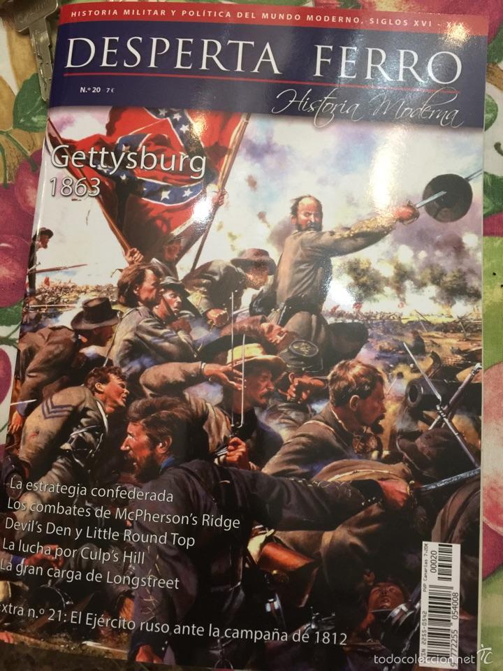 DESPERTA FERRO HISTORIA MODERNA Nº20 - GETTYSBURG 1863 (Militar - Revistas y Periódicos Militares)