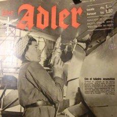 Militaria: DER ADLER Nº 6 AÑO DE 1943 EN ESPAÑOL.DIVISION AZUL.. Lote 54435078