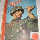 Militaria: SIGNAL Nº 13 1944 ED. U HUNGARA REVISTA ALEMANA, - ULTRA RARO, -DESFILE VICTORIA FRANCO, FALANGE. Lote 54560418
