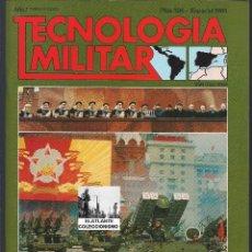 Militaria: REVISTA TECNOLOGÍA MILITAR - ESPECIAL 1985 - EL PODERÍO MILITAR SOVIÉTICO - SEMINUEVA. Lote 127992352