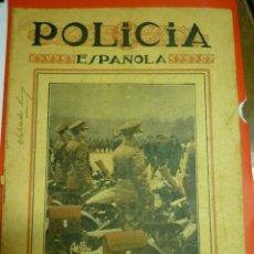 Militaria: REVISTA POLICÍA ESPAÑOLA. DICIEMBRE 1935. II REPÚBLICA. Lote 54649522