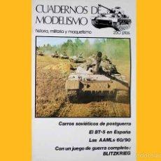Militaria: REVISTA CUADERNOS DE MODELISMO Nº 3 (CON WARGAME INCLUIDO). Lote 56219234