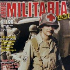 Militaria: MILITARIA MAGAZINE N ° 190. Lote 55351519