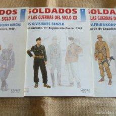 Militaria: 3 FASCICULOS SEGUNDA GUERRA MUNDIAL. Lote 55785040