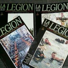 Militaria: LOTE 4 NÚMEROS REVISTA LA LEGIÓN. Lote 56244517