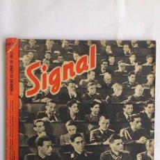 Militaria: REVISTA SIGNAL - Nº 11, JUNIO 1942. Lote 56325742