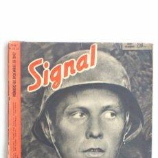Militaria: REVISTA SIGNAL - Nº 23/24, DICIEMBRE 1942. Lote 56325779