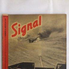 Militaria: REVISTA SIGNAL - Nº 16, AGOSTO 1941. Lote 56325834