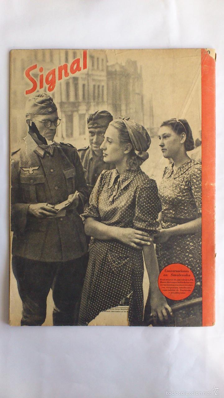 Militaria: REVISTA SIGNAL - Nº 19, OCTUBRE 1941 - Foto 2 - 56325847