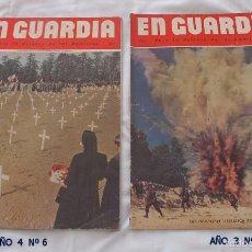 Militaria: LOTE DE 2 REVISTAS EN GUARDIA 2ª GUERRA MUNDIAL . Lote 56575655