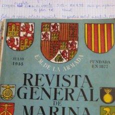 Militaria: REVISTA GENERAL DE MARINA. Lote 56852340