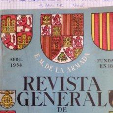 Militaria: REVISTA GENERAL DE MARINA. Lote 56852350