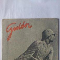 Militaria: GUION - REVISTA ILUSTRADA DE LOS MANDOS SUBALTERNOS, Nº 9 - FEBRERO 1943. Lote 56890588