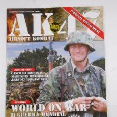 Militaria: REVISTA AK-47 AIRSOFT KOMBAT. Nº 12. AÑO II. 2011. WORLD ON WAR. II GUERRA MUNDIAL. TDKR16. Lote 56957727