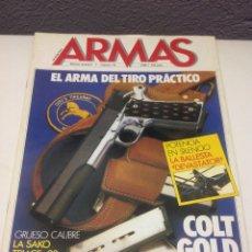 Militaria: REVISTAS DE ARMAS, LOTE DE 12 REVISTAS ANTIGUAS. Lote 57516356