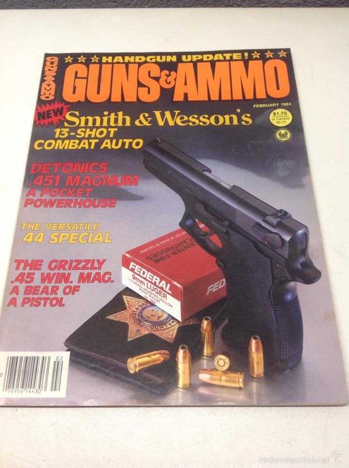 REVISTAS DE ARMAS. LOTE DE 7 REVISTAS. (Militar - Revistas y Periódicos Militares)