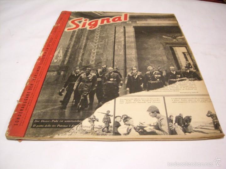 Militaria: Signal; lote de cinco revistas - Foto 2 - 58013532